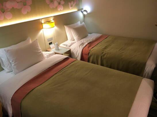 吉祥寺第一ホテルのベッド
