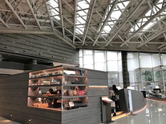 東京マリオットホテルのエントランスフロア