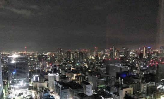 シャングリラ・ホテル東京の夜景