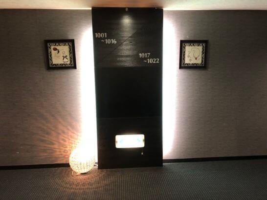 立川グランドホテルの客室フロアー