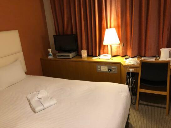 立川グランドホテルの客室