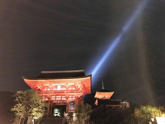 夜の清水寺