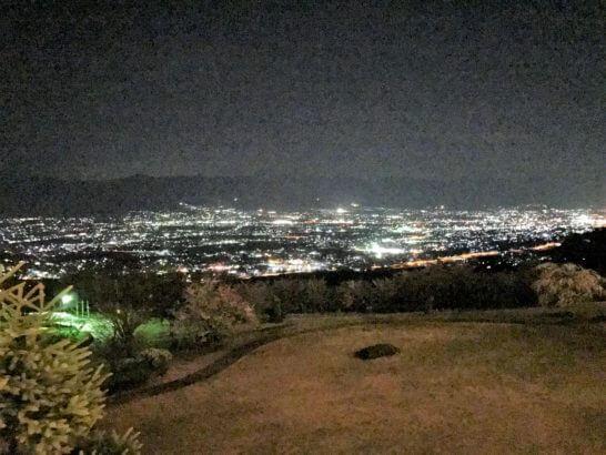フルーツパーク富士屋ホテルの夜景 (2)