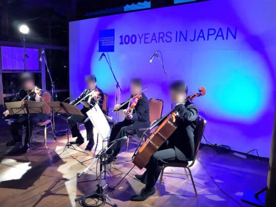 夜の清水寺(アメックスの夜間参拝イベントのコンサート