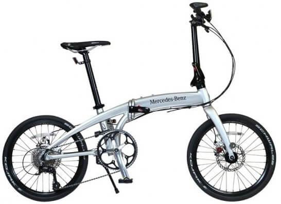 メルセデス・ベンツ20型折りたたみ自転車