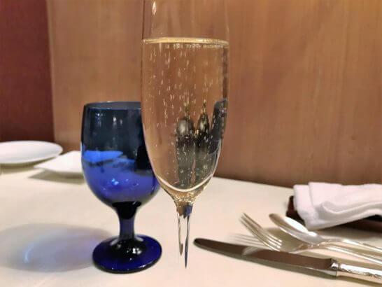 ザ・リッツ・カールトン大阪のスプレンディードのシャンパン