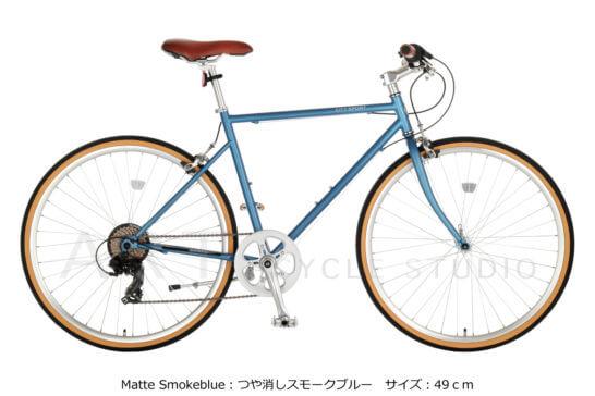 クロモリクロスバイク CITY SPORT BIKE 26-7