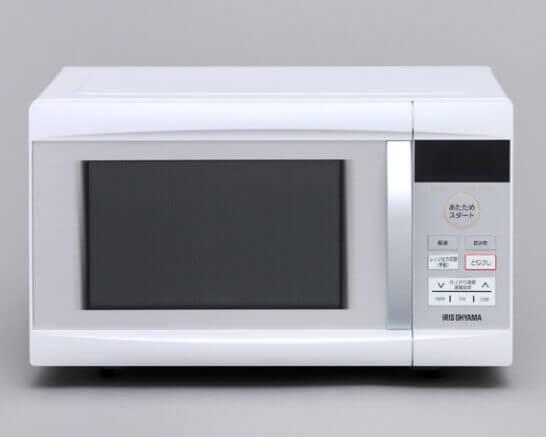 アイリスオーヤマ電子レンジ ターンテーブル