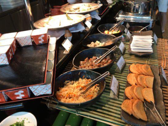 ANAインターコンチネンタルホテル東京の朝食の和食類
