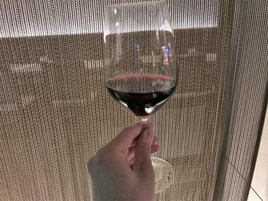 ヒルトン小田原「フローラ」の赤ワイン
