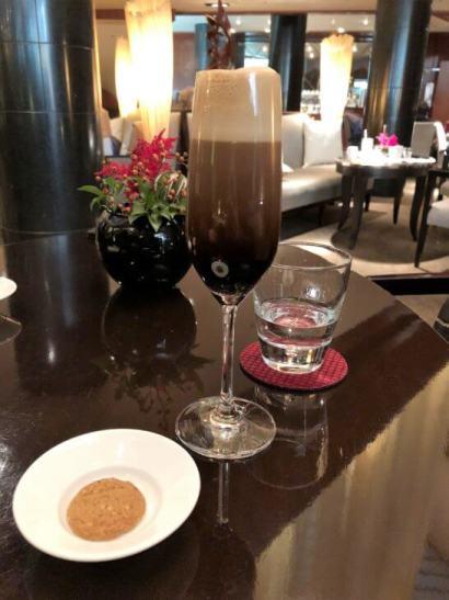 ANAインターコンチネンタルホテル東京のカスケイドカフェのコーヒー