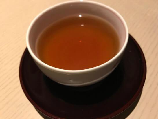 ヒルトン小田原「フローラ」のほうじ茶