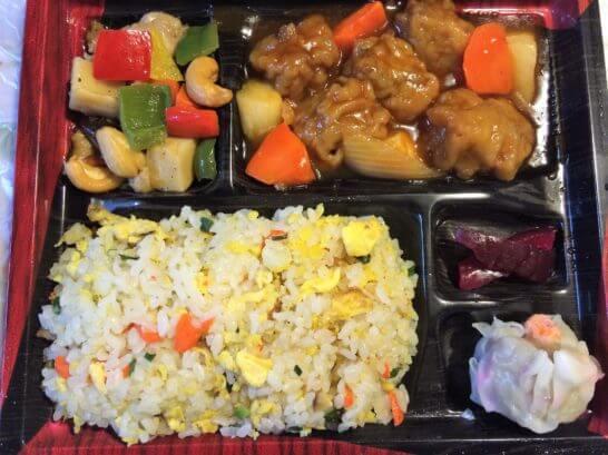 伊勢丹の中華弁当