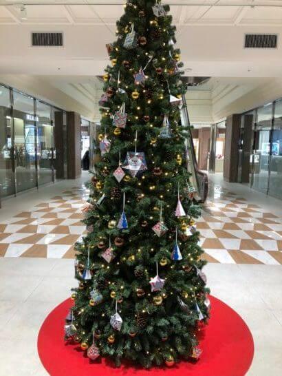 恵比寿三越のクリスマスツリー