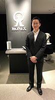 マネックス証券の清野翔太さん