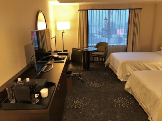 横浜ベイシェラトン ホテルのクラブ・ツインルーム