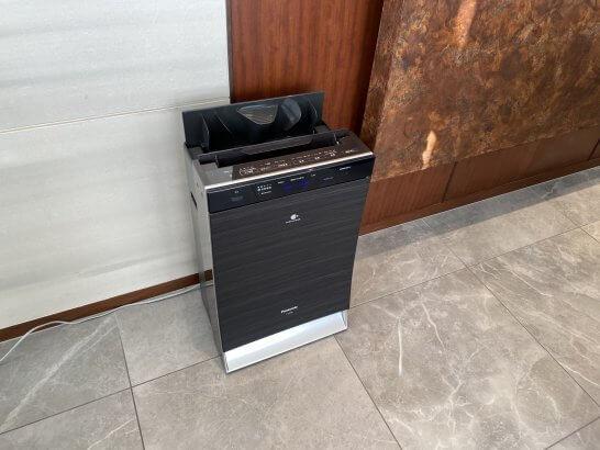 ビューゴールドラウンジの空気洗浄機