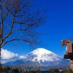御殿場プレミアム・アウトレットから見た富士山