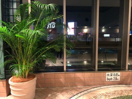 横浜ベイシェラトン ホテルのプール