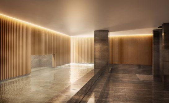ヒルトン軽井沢の大浴場