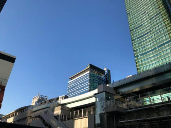 新橋駅近辺のオフィス街