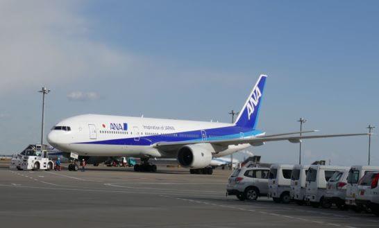 ANAの飛行機
