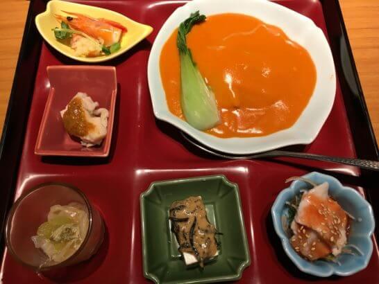 JRE POINT加盟店の中華レストランでの食事 (5)