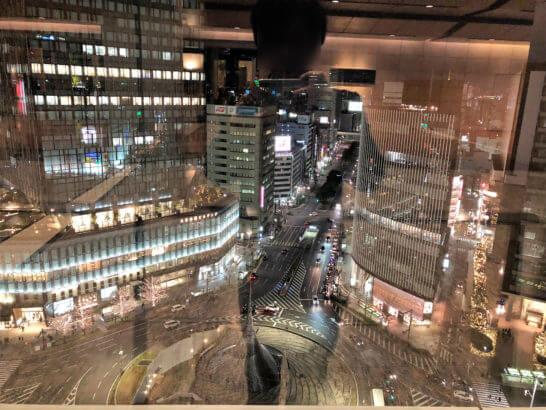 名古屋マリオットアソシアホテルからの夜景