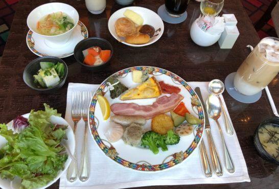 ウェスティンホテル東京のザ・テラスの朝食