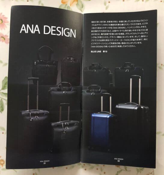 ANA DESIGNのスーツケース