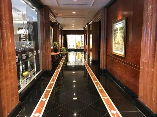 ウェスティンホテル東京1Fのショップ