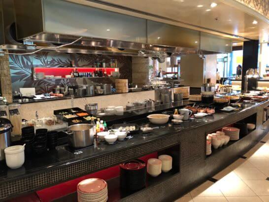 ウェスティンホテル東京のザ・テラスのホットミール
