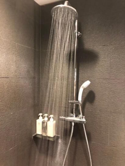 サクララウンジ(羽田空港国際線)のシャワー