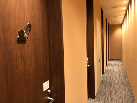 TIAT LOUNGE ANNEXのシャワールーム