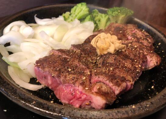 いきなりステーキのワイルドステーキ
