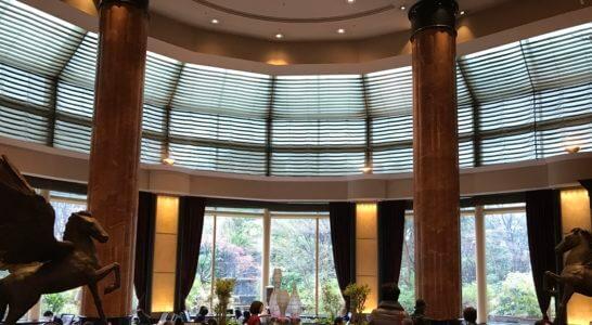 ウェスティンホテル東京のロビーラウンジ (2)