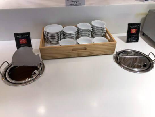 サクララウンジ(羽田空港国際線)のスープ