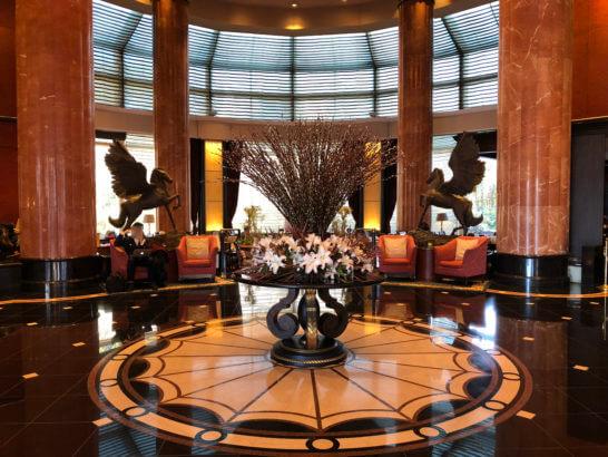 ウェスティンホテル東京のロビー・ラウンジ