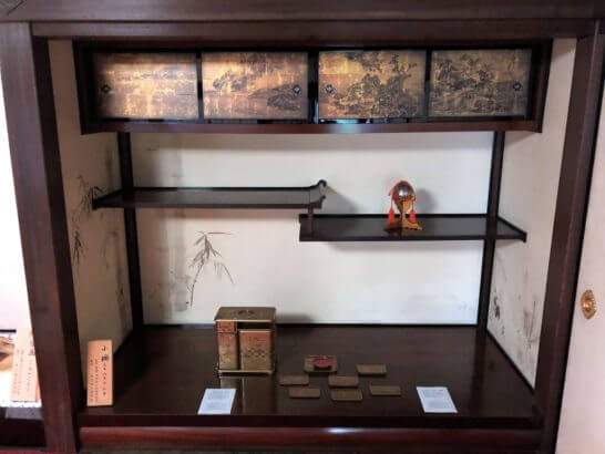 応挙館の象彦製の展示物