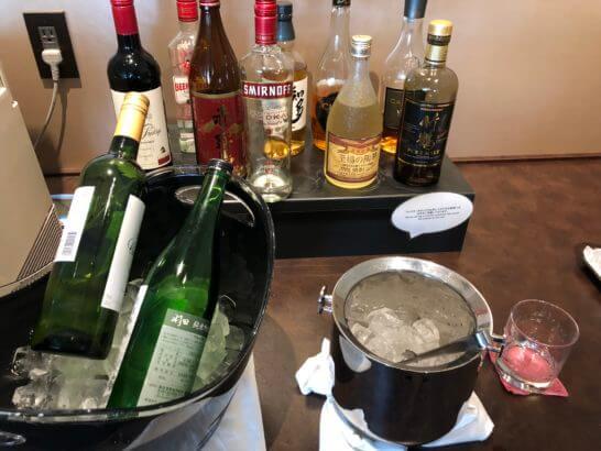 TIAT LOUNGE ANNEXのワイン・日本酒・洋酒