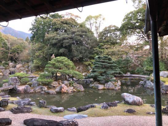 醍醐寺の表書院の庭園