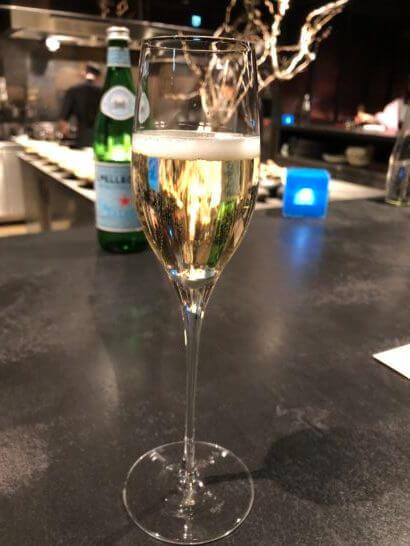 フロリレージュのシャンパン