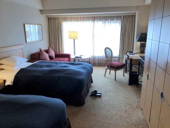 神戸ベイシェラトンホテルのツインルーム