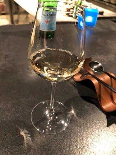 フロリレージュの白ワイン2杯め