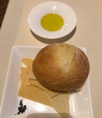 セントレジスホテル大阪のラ ベデュータのパン