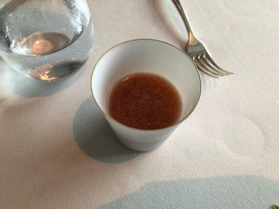 トマト オレンジ 紫蘇 塩