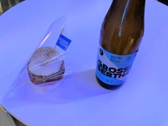 バーガーとビール