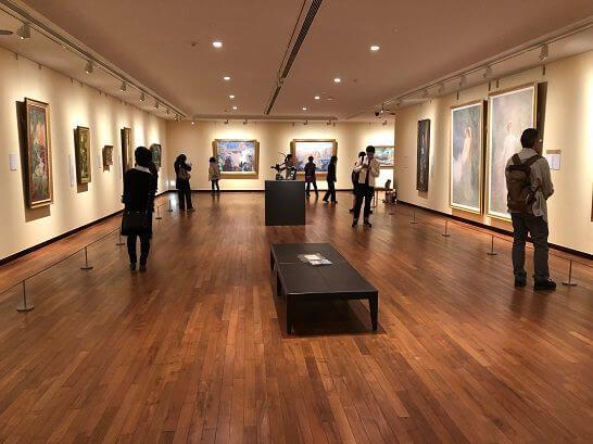 国立西洋美術館の絵画ゾーン