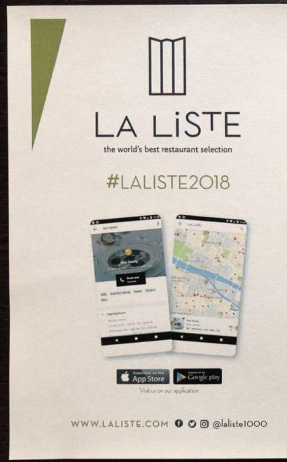 LA LISTE(ラ・リスト)のアプリの説明