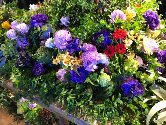 #AmexLifeの会場の花